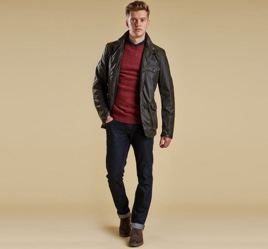 Veste Beacon James Bond Barbour