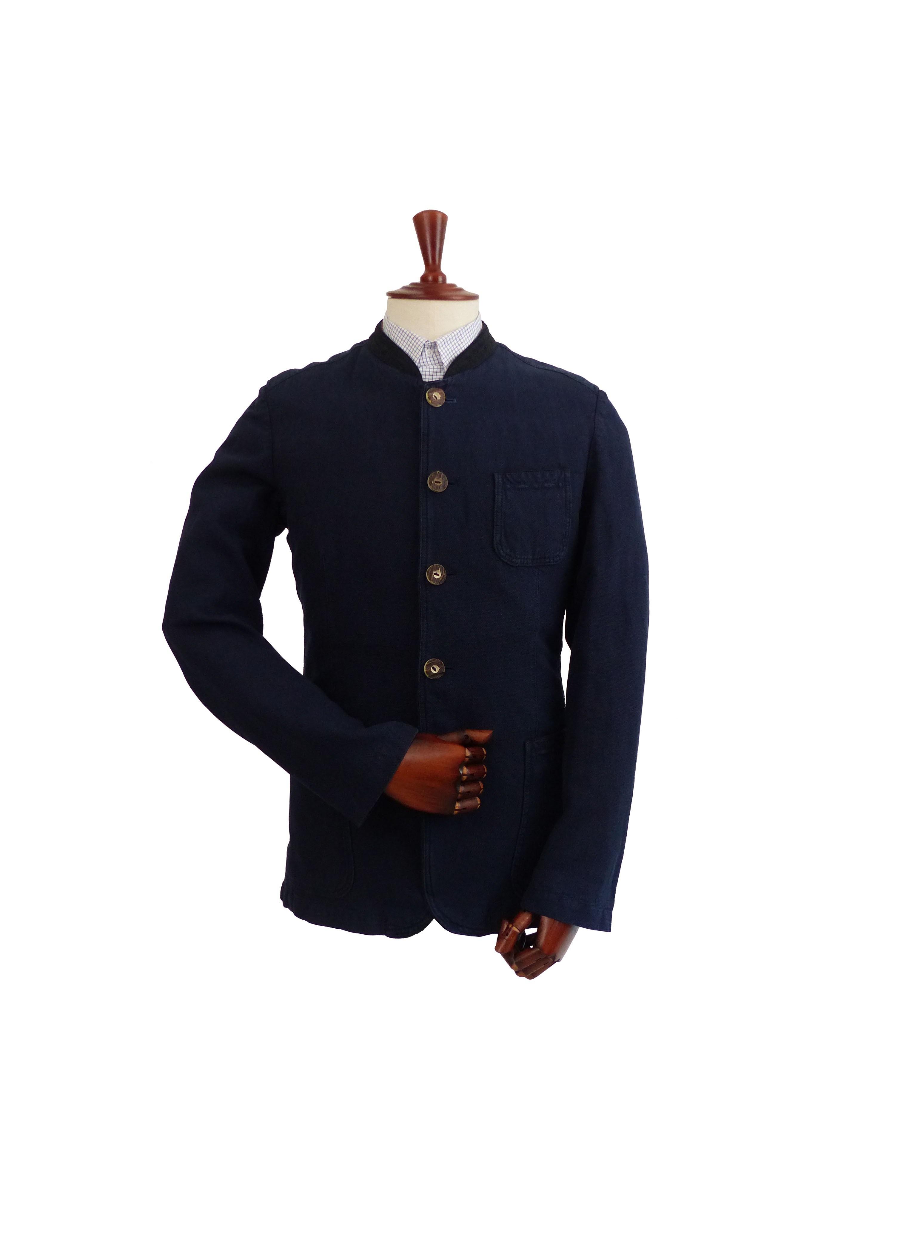 Veste Nino Garment Dyed Blue Indigo Schneiders