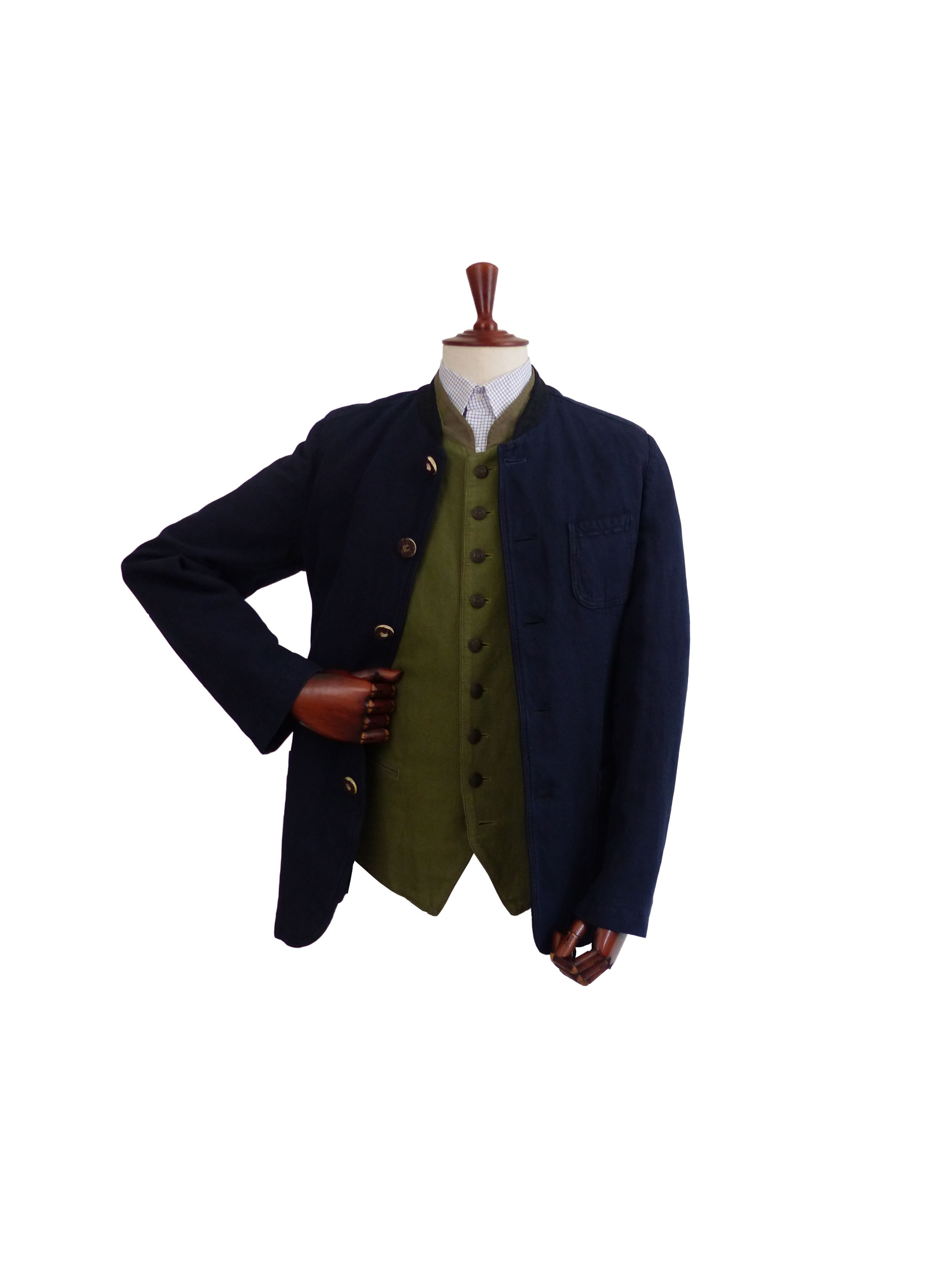 Gilet Iber Garment Dyed Kaki Schneiders