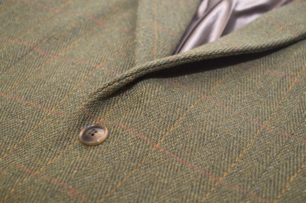 "Veste Tweed type ""blazer""."