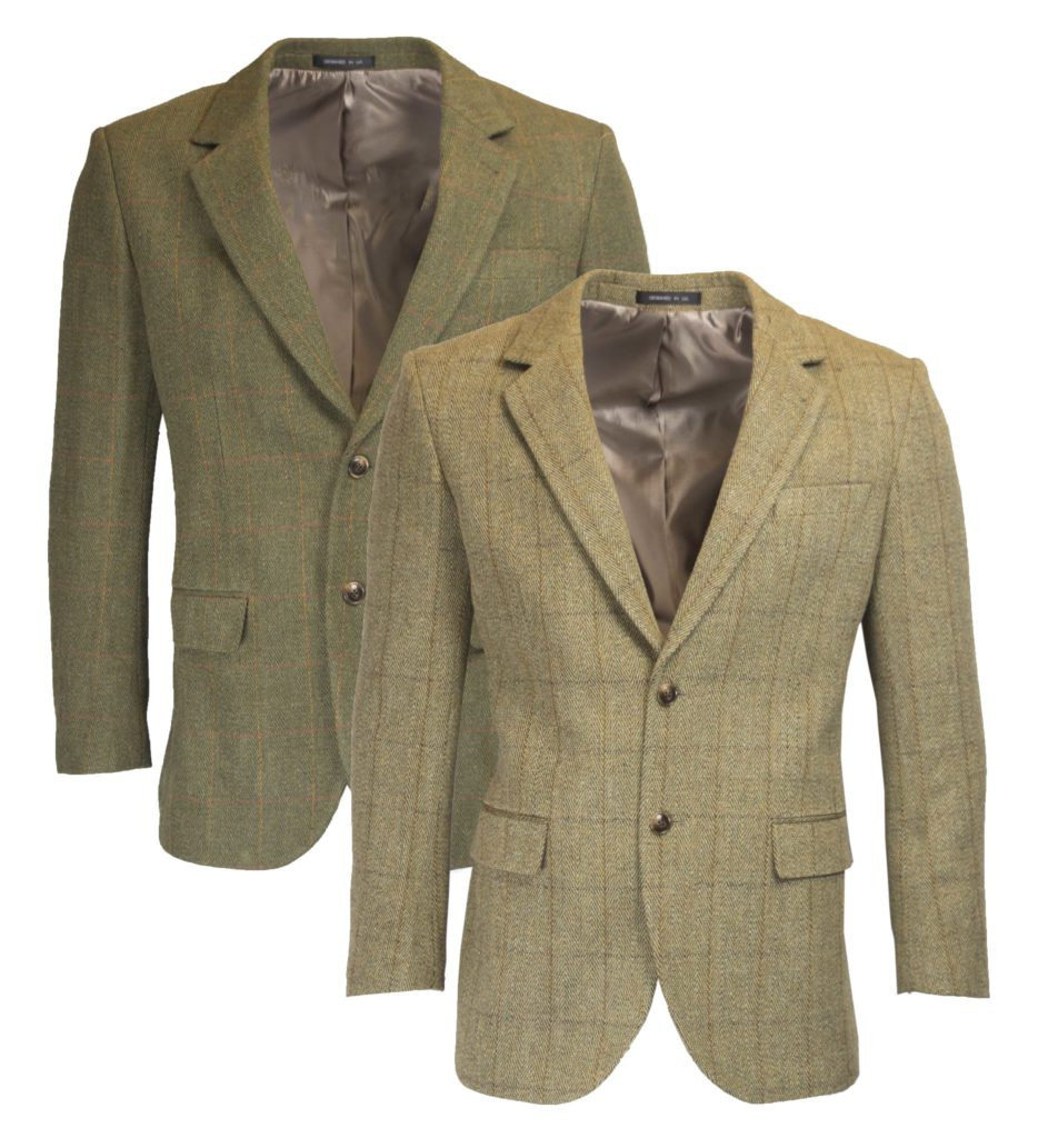 Veste Tweed type