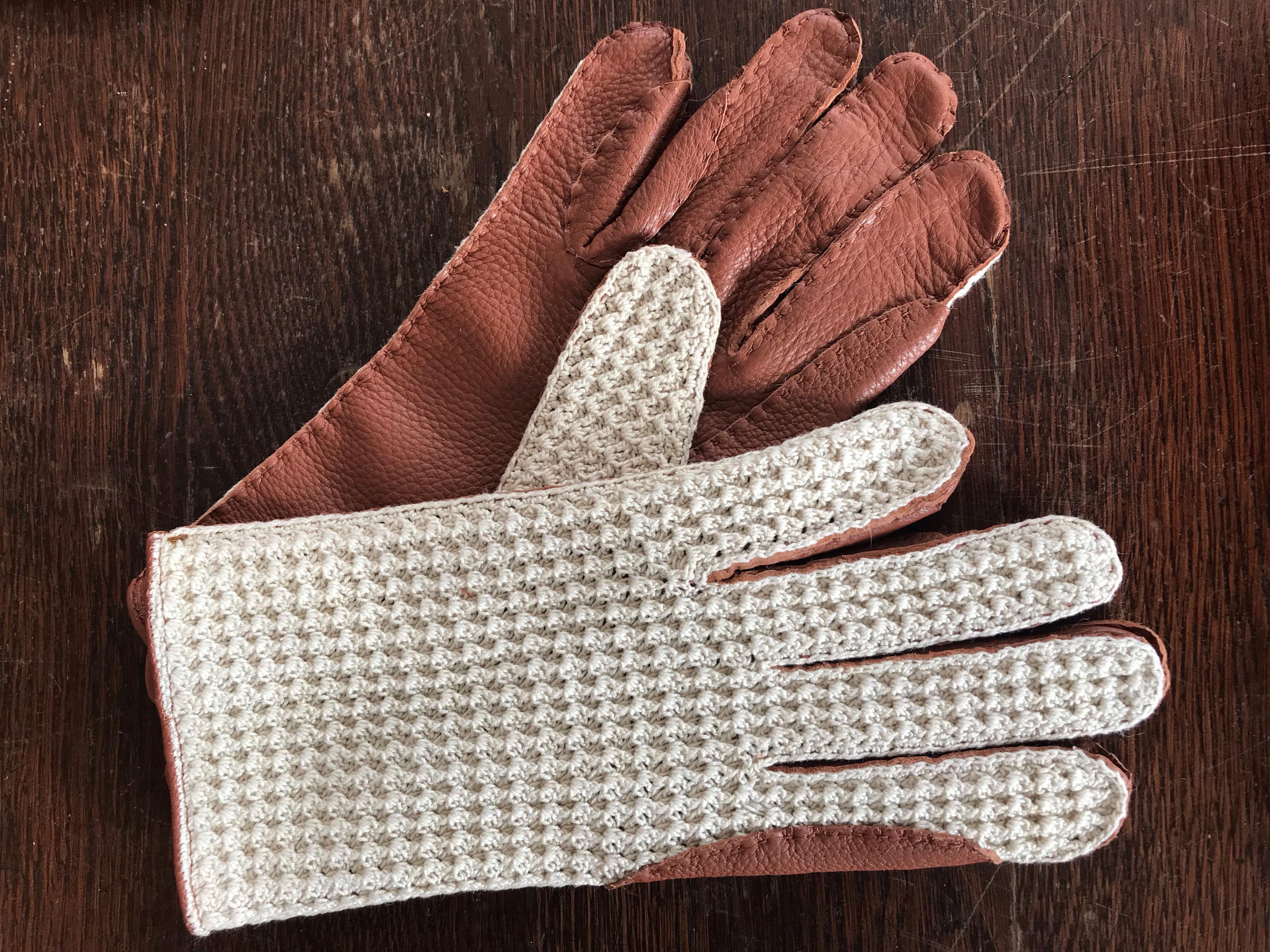 Gants de vénerie Crochet-Cerf
