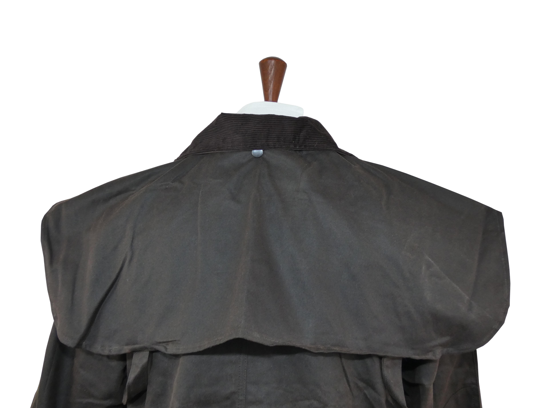 Manteau Imperméable cavalier coton huilé