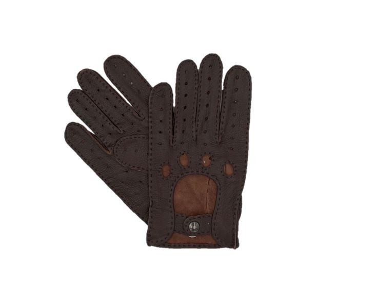 gants pilote cuir