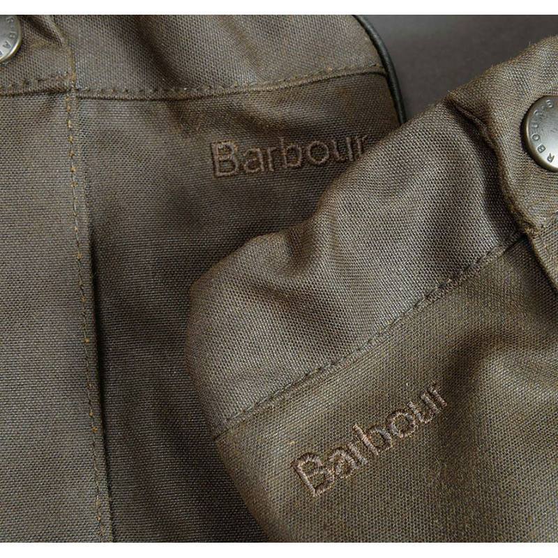 Guêtres Barbour en coton huilé