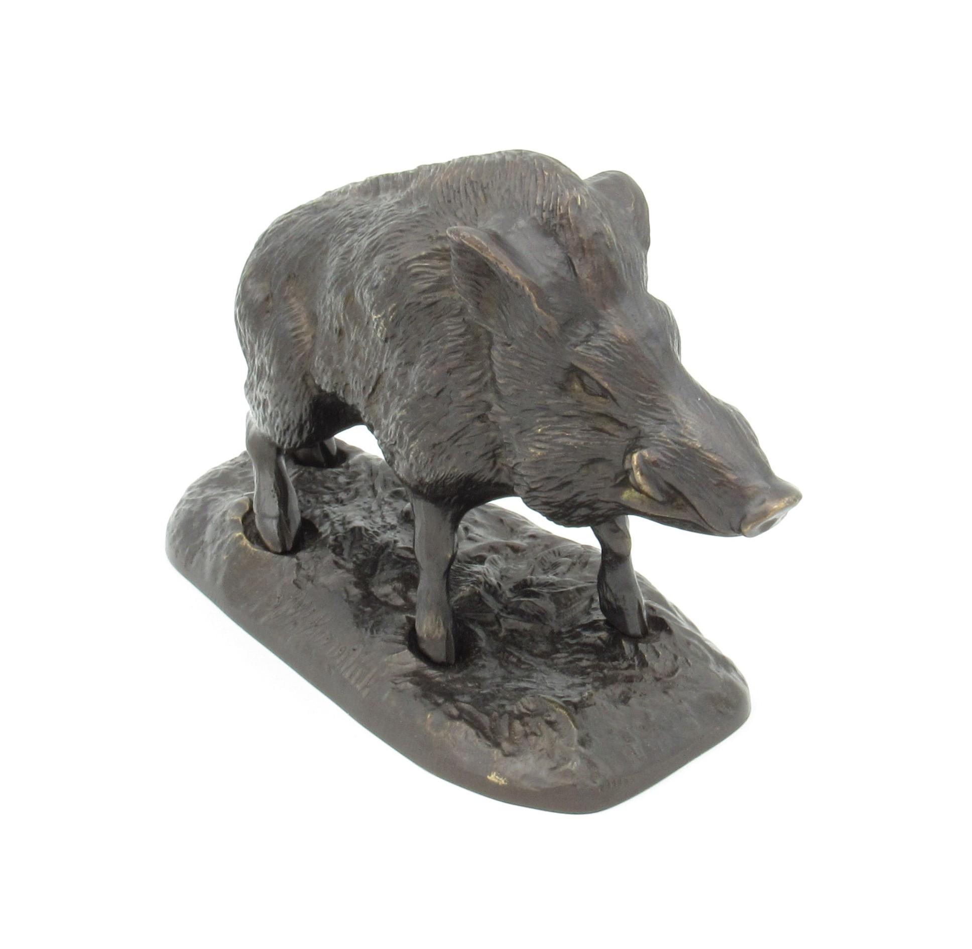Bronze Le Sanglier