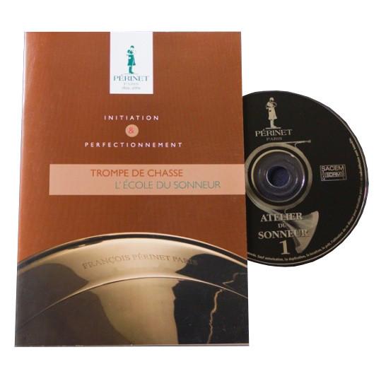 Livre et CD L'École du sonneur - trompe
