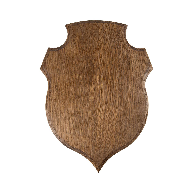 Écusson cerf forme ronde 45/33 cm
