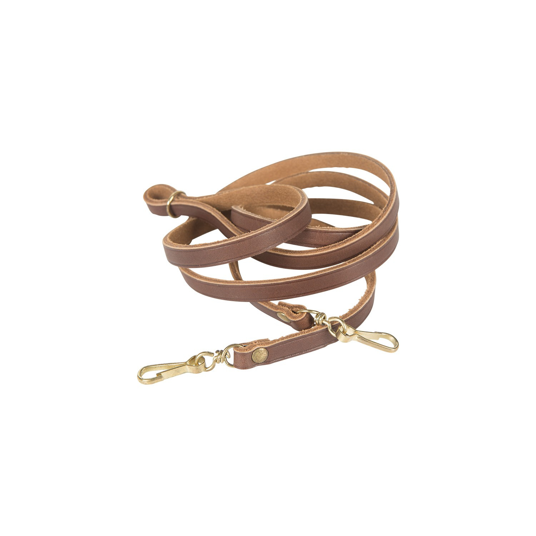 Lanière de pibole en cuir ajustable