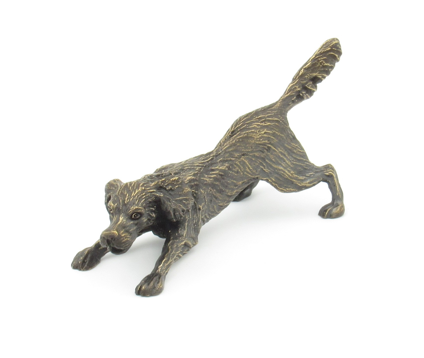Bronze Chien Setter