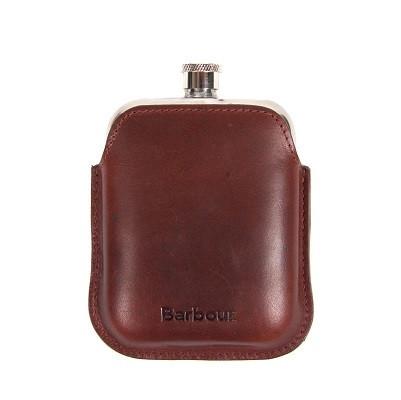 Flasque Barbour - Cuir