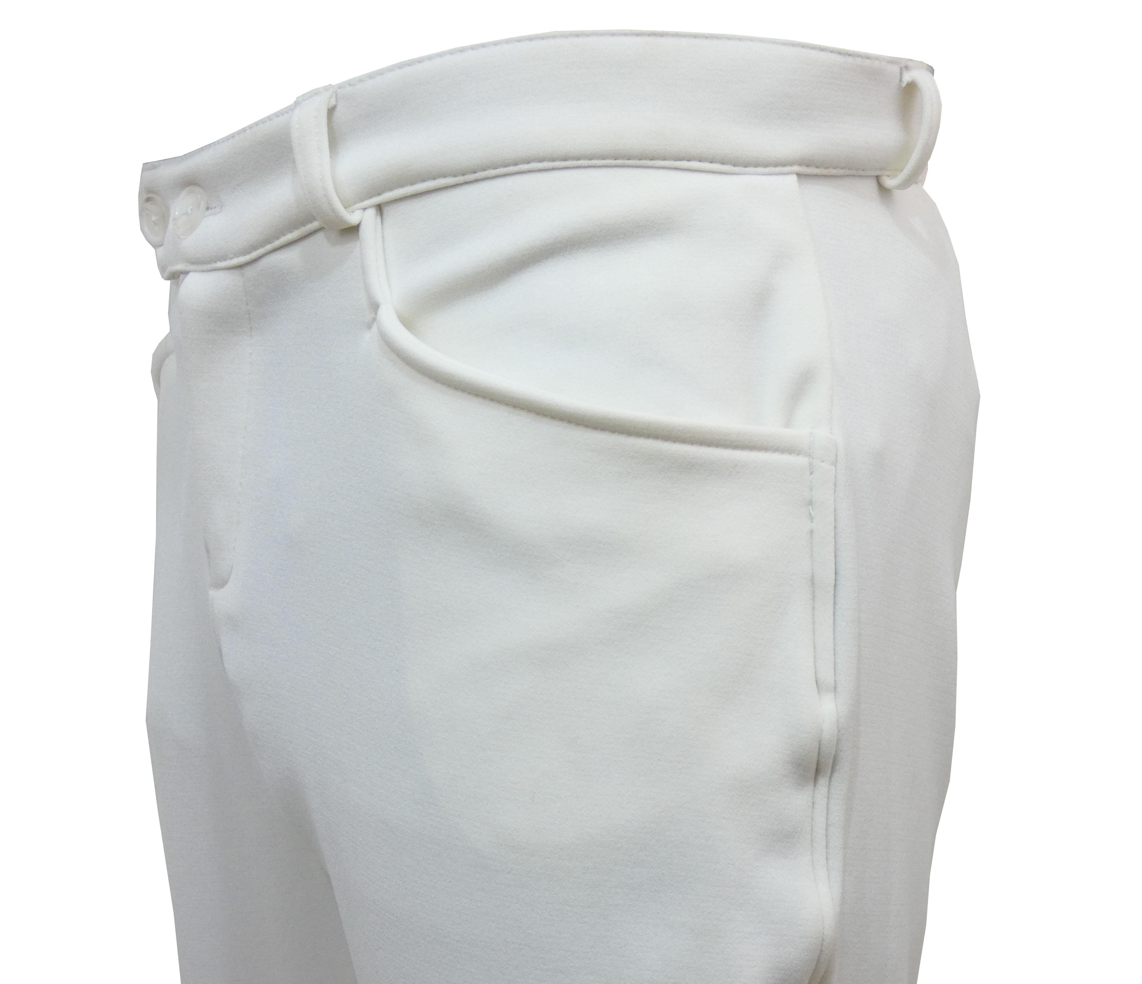 Culotte d'équitation blanche