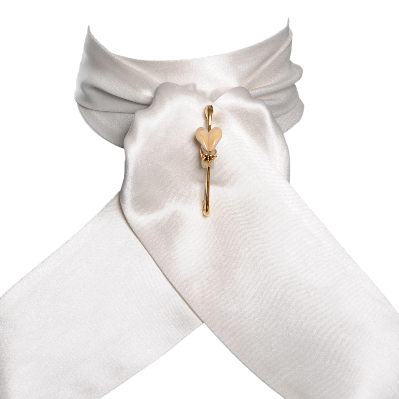 Cravate de vénerie en soie