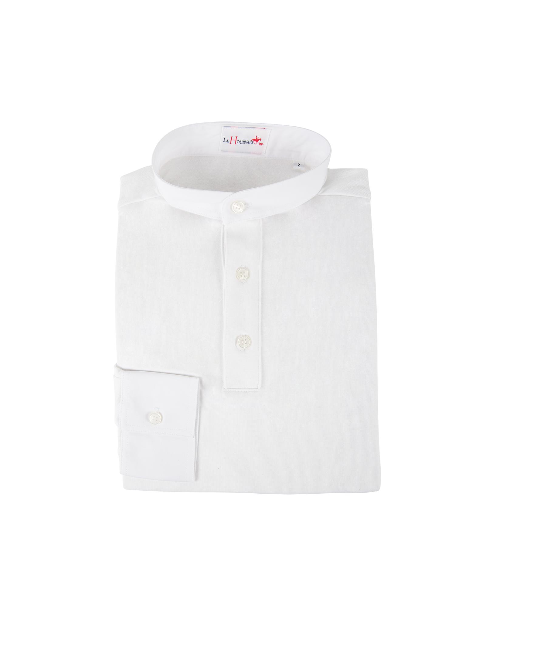 Chemise de vénerie 3 boutons jersey