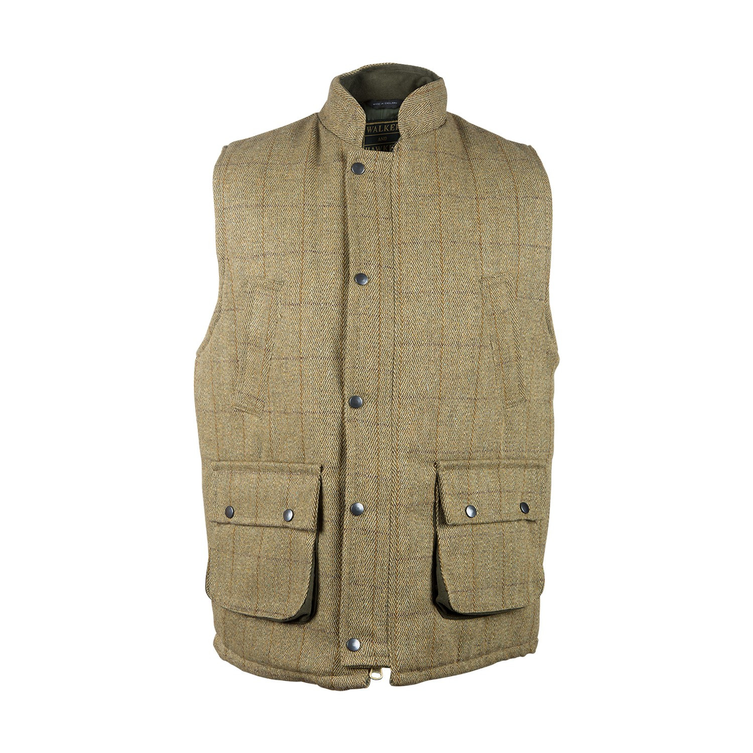Gilet en tweed clair