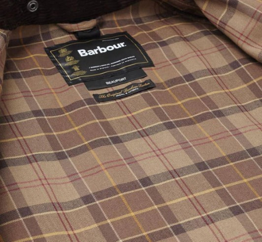 Veste de chasse Beaufort Marron Barbour